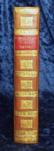 1575 Caesar's Commentaries new spine.