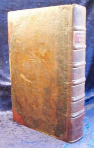 BlomeBible11 sussex brighton Hove Lewes Eastbourne Worthing Seaford bookbinder bookbinding bible book repair restorer restoration