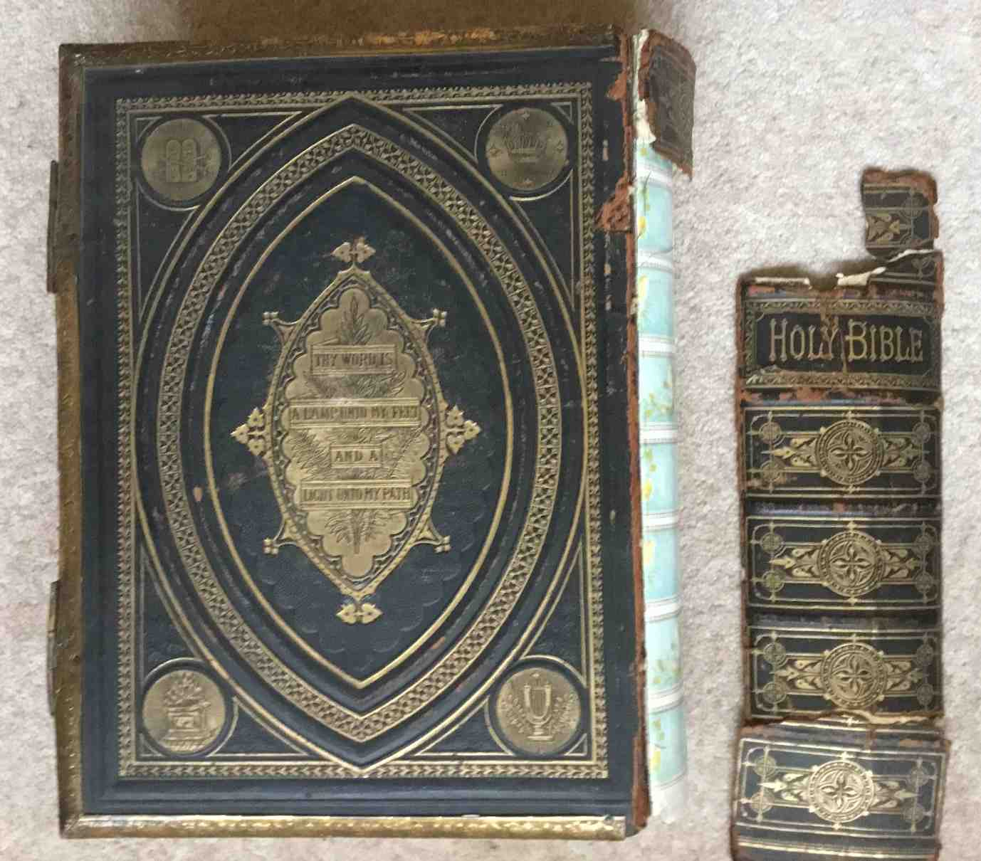 If You Are Interested To See How I Repair These Bibles