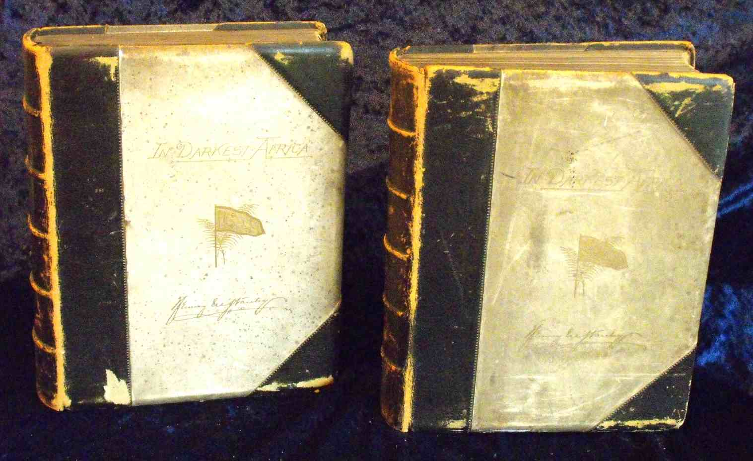 Corner repairs and restoration of worn leather bindings