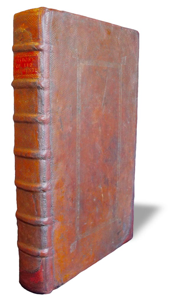 Rebacked 18th century Bible Sussex Book Restoration