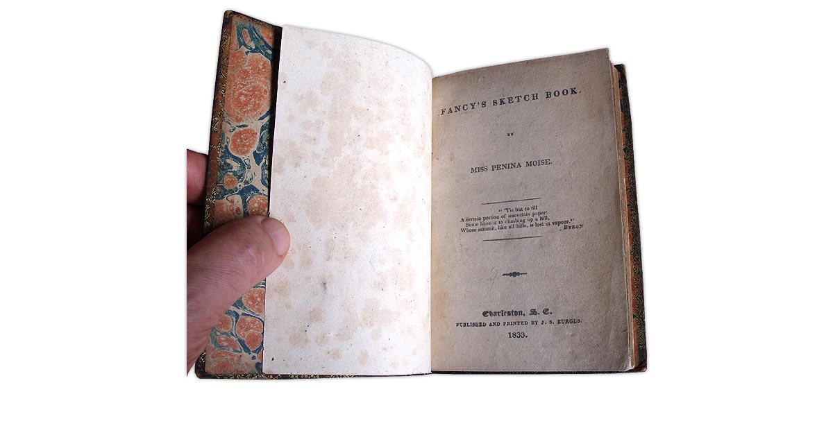 A facsimile printed title page replacing the original which was missing in this volume
