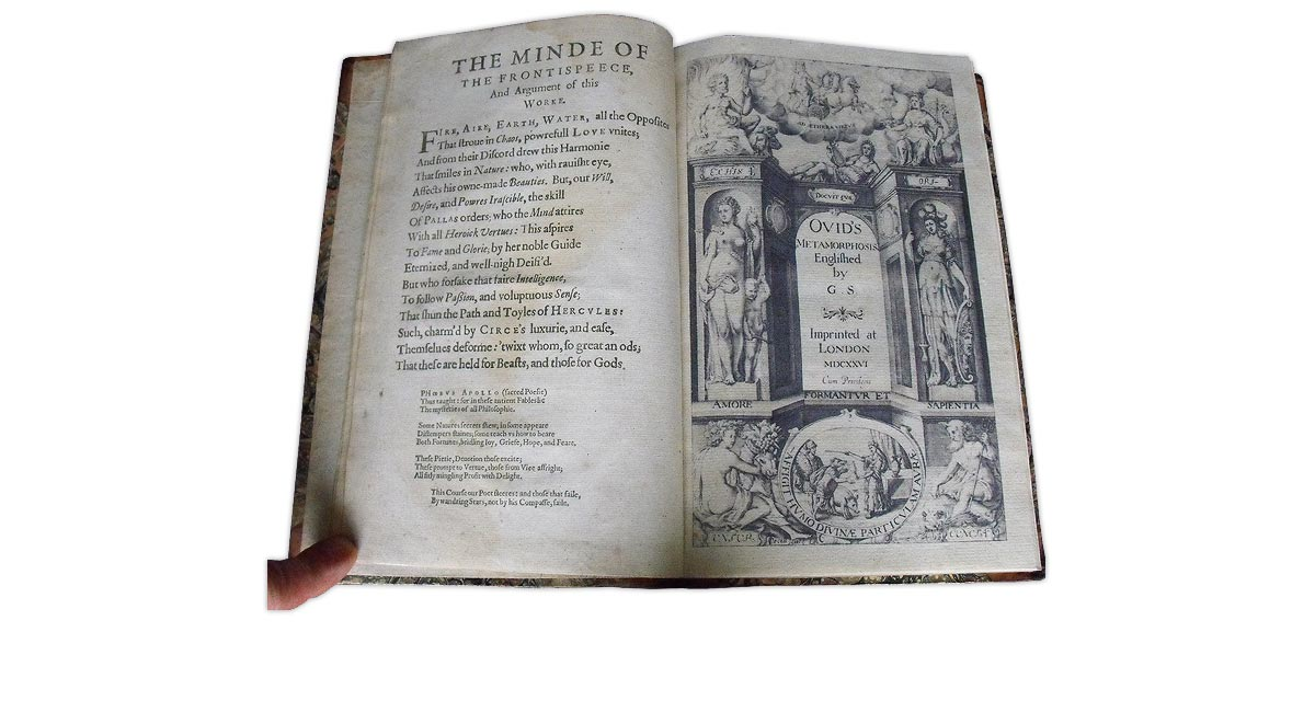 A facsimile decorative title page replacing the original which was missing in this volume
