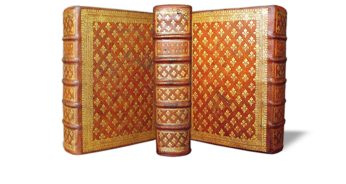 The same volume after the binding was refurbished