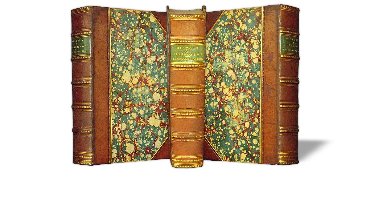 The same book after its binding was refurbished