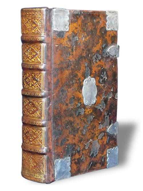 Leather-bound book restoration by Sussex Book Restoration