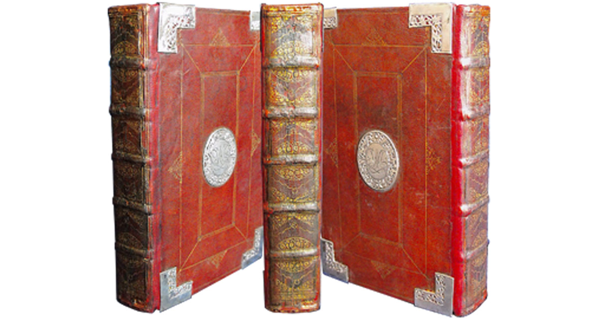 This Book of Common Prayer was rebacked with the original spine mounted onto the new leather spine.