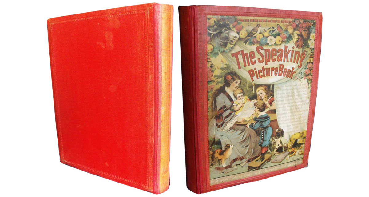 The damage to the pages and the box housing the mechanism were repaired before the binding was restored, incorporating the original spine. Book restoration